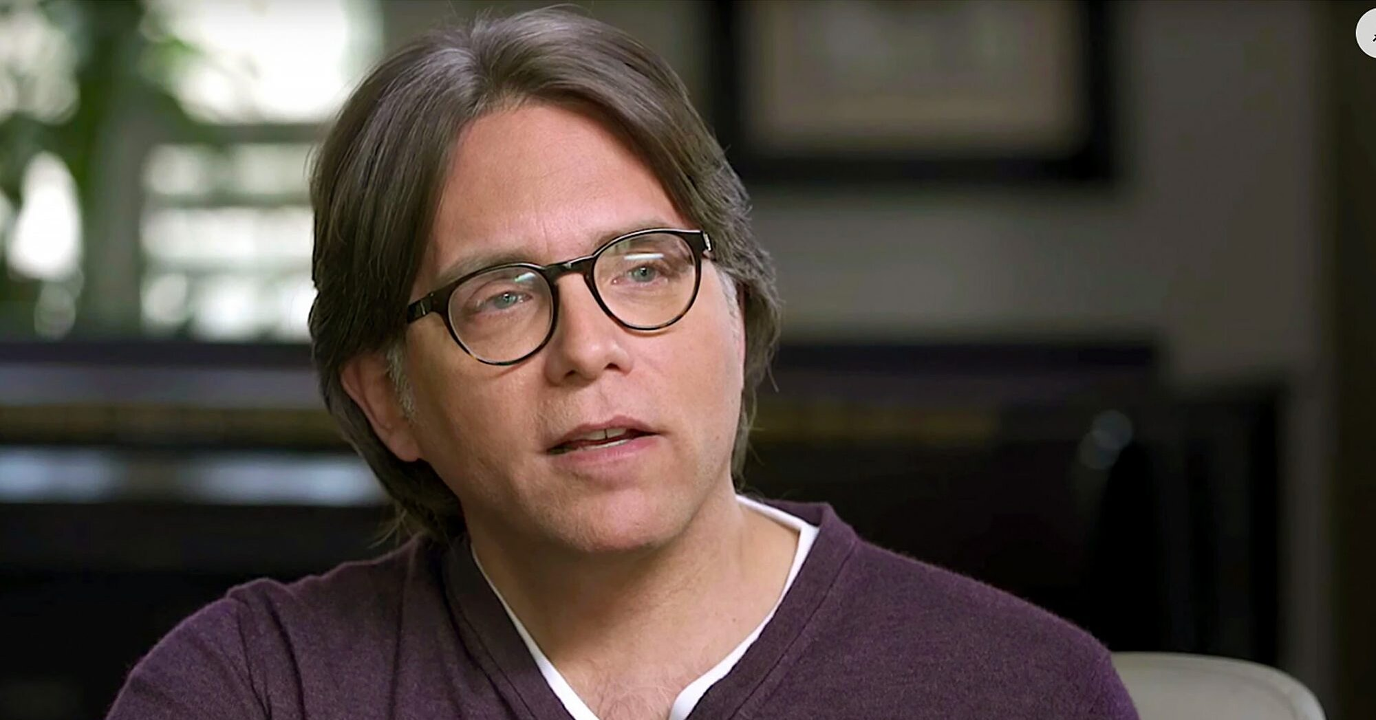 NXIVM Leader Keith Raniere Says He's 'Innocent' as He Speaks Out for First Time Since Arrest