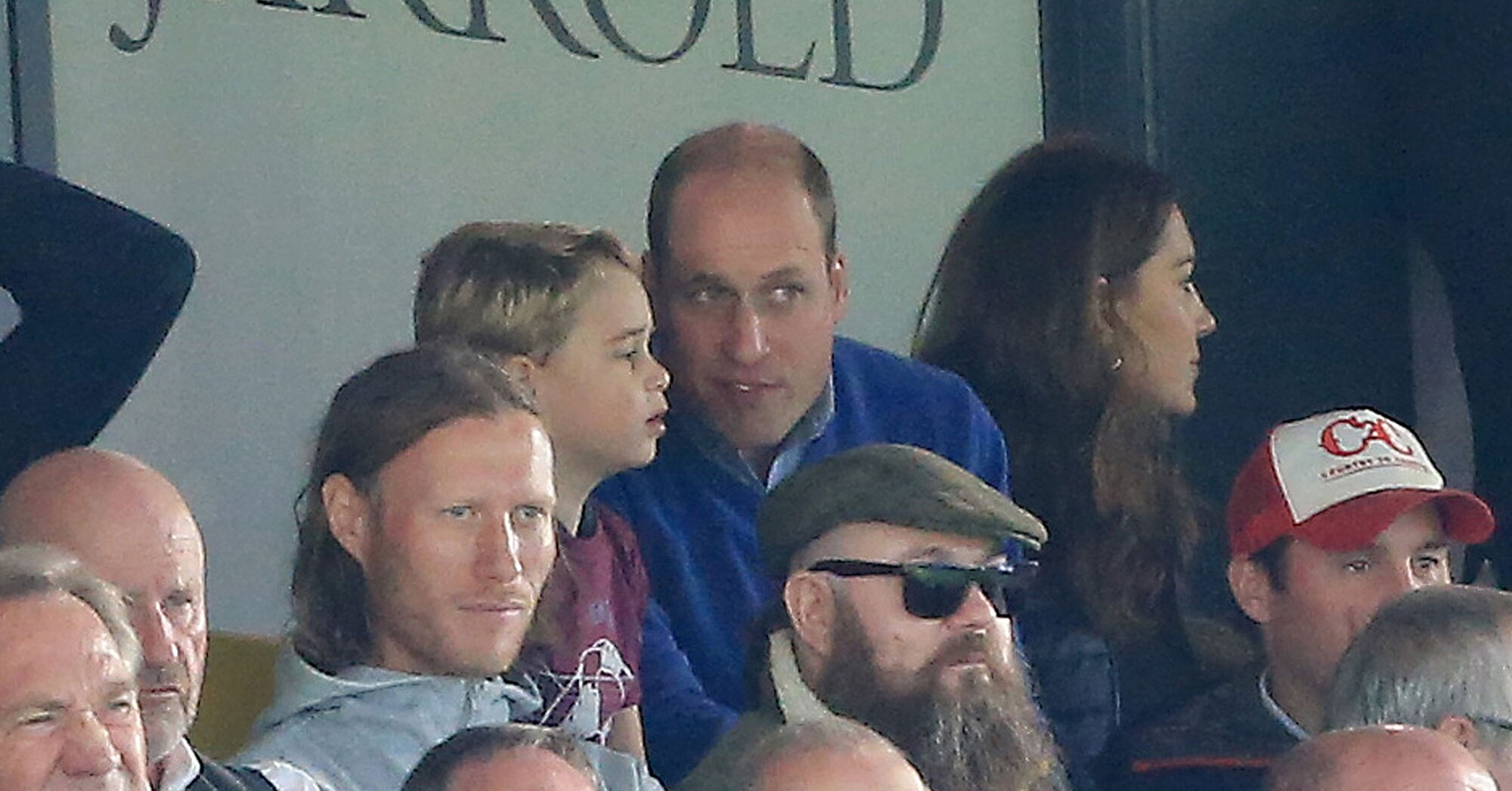 Prince William Reveals Why He Couldn't Cheer Too Loudly at Prince George's First Soccer Match