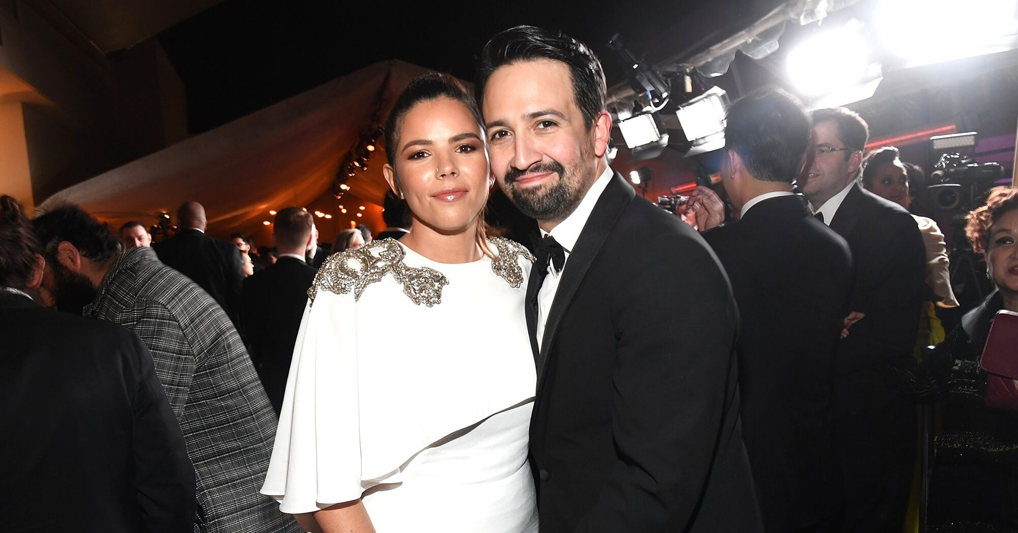 Lin-Manuel Miranda's Wife Says She 'Always Boos' When He 'Kisses Someone' in Hamilton - MSN Money