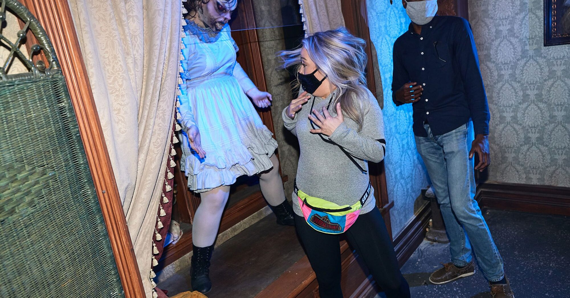 What It's Really Like to Go Through Universal Orlando's New Socially Distanced Haunted Houses