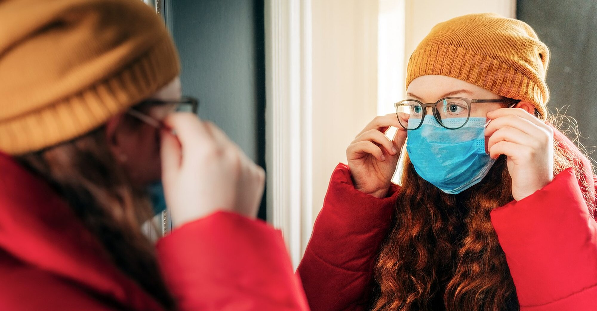 How to Keep Your Glasses From Fogging Up While Wearing a Face Mask