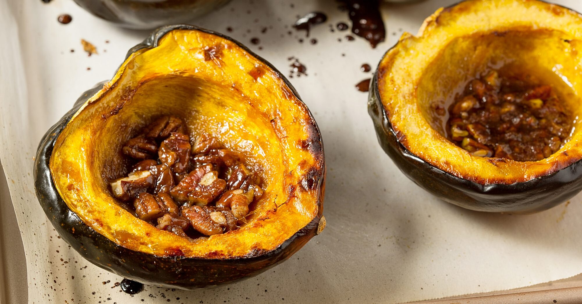Two Tasty Ways to Make Acorn Squash in the Oven