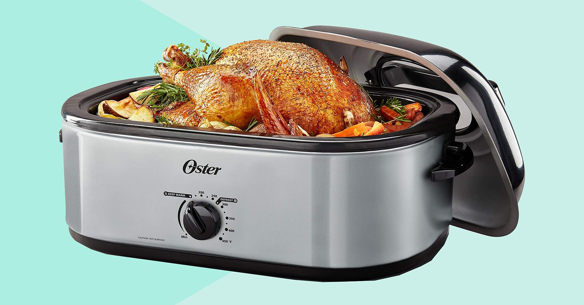 This $30 Roaster Cooks Turkey Quicker Than an Oven—and It Has a Genius Hidden Feature