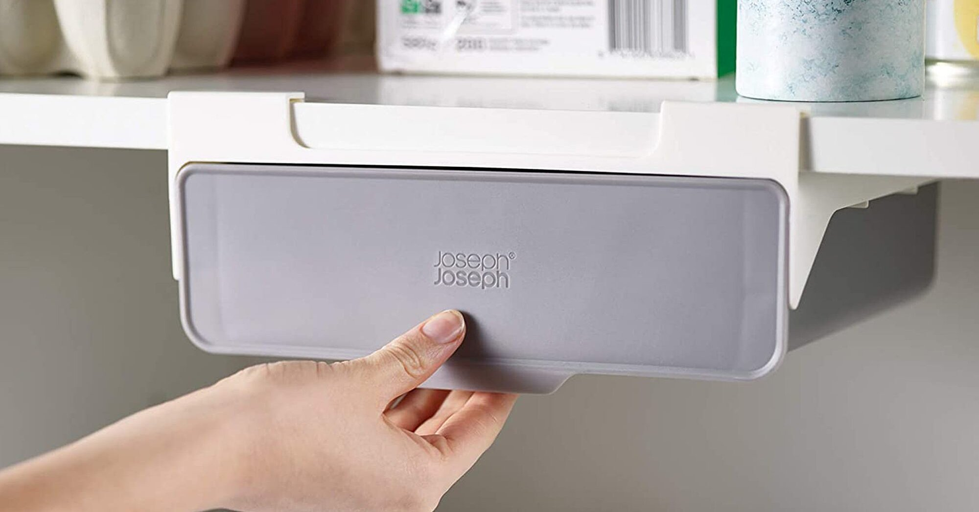 The Joseph Joseph Under Shelf Drawer Creates Storage In Unused Spaces Real Simple