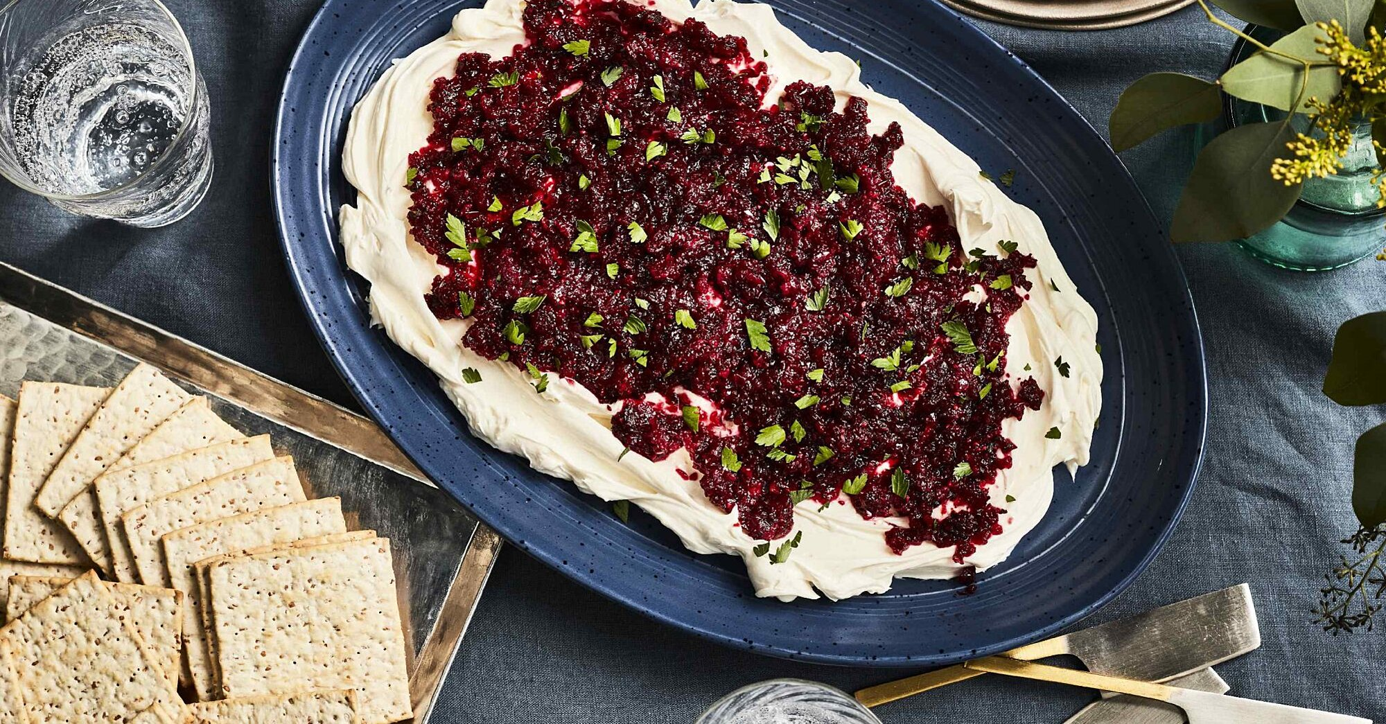 Cranberry-Jalapeño Cream Cheese Dip