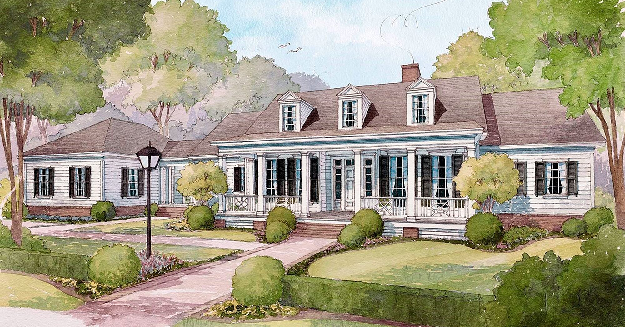 We Love a Classic: House Plan 2049 Is Perfect for Every Stage of Life