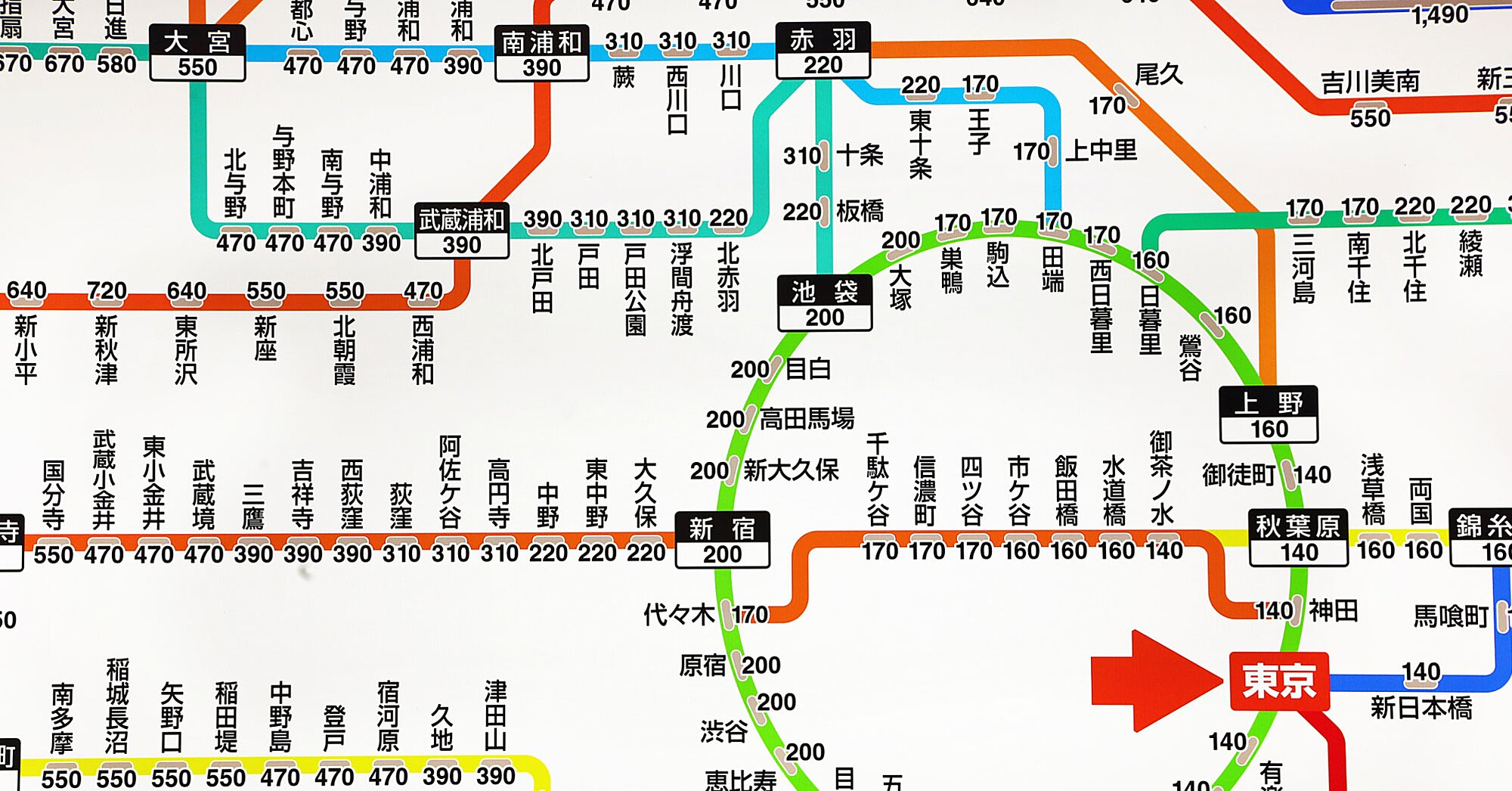 Tokyo Subway Maps.Tokyo S Subway System Is About To Get Easier To Navigate Travel Leisure