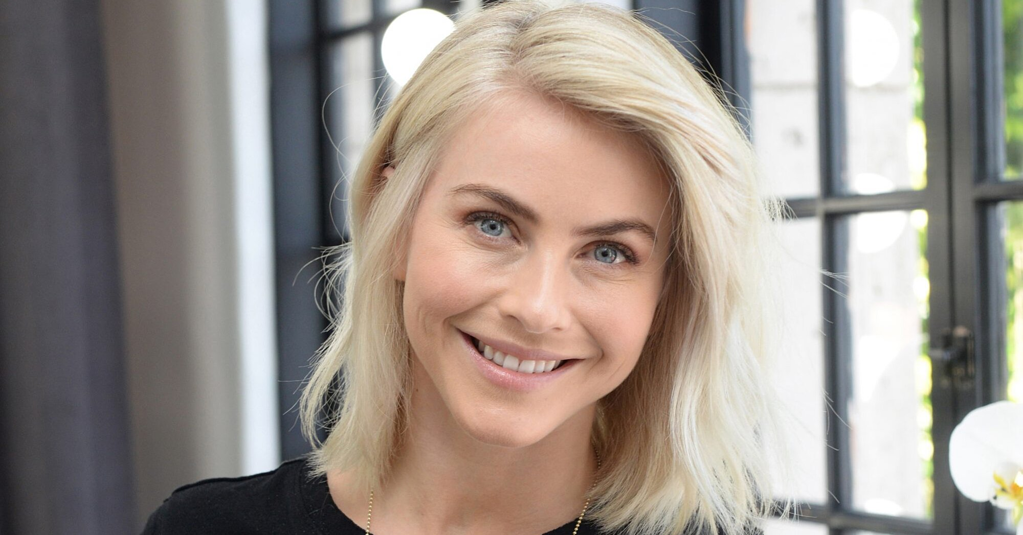 Julianne Hough Has the Most Fun Work From Home Productivity Trick We've Heard Yet