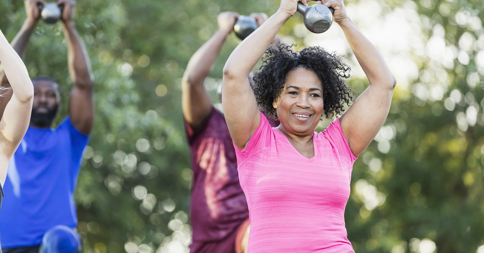 Missing the Gym? Experts Say You Might Want to Consider Taking an Outdoor Fitness Class