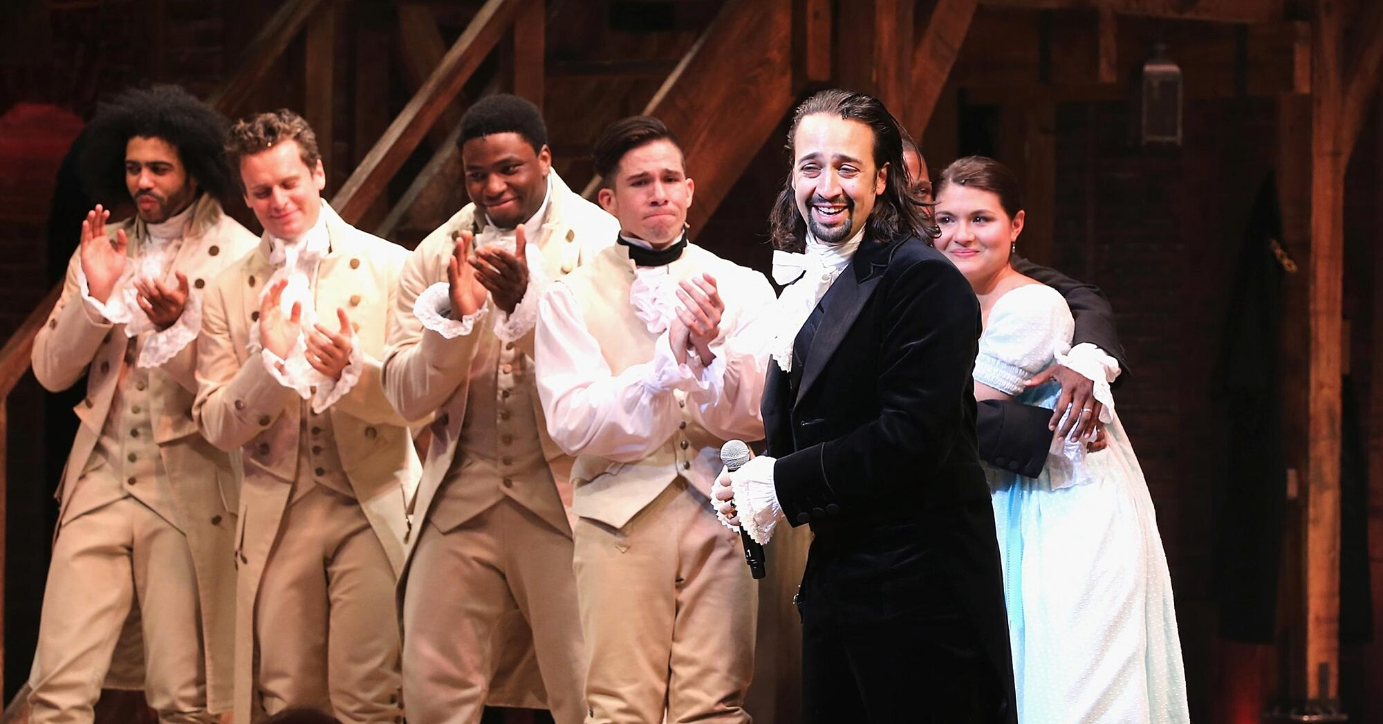 'Hamilton' stars and creative team share memories of working on show during Twitter watch party