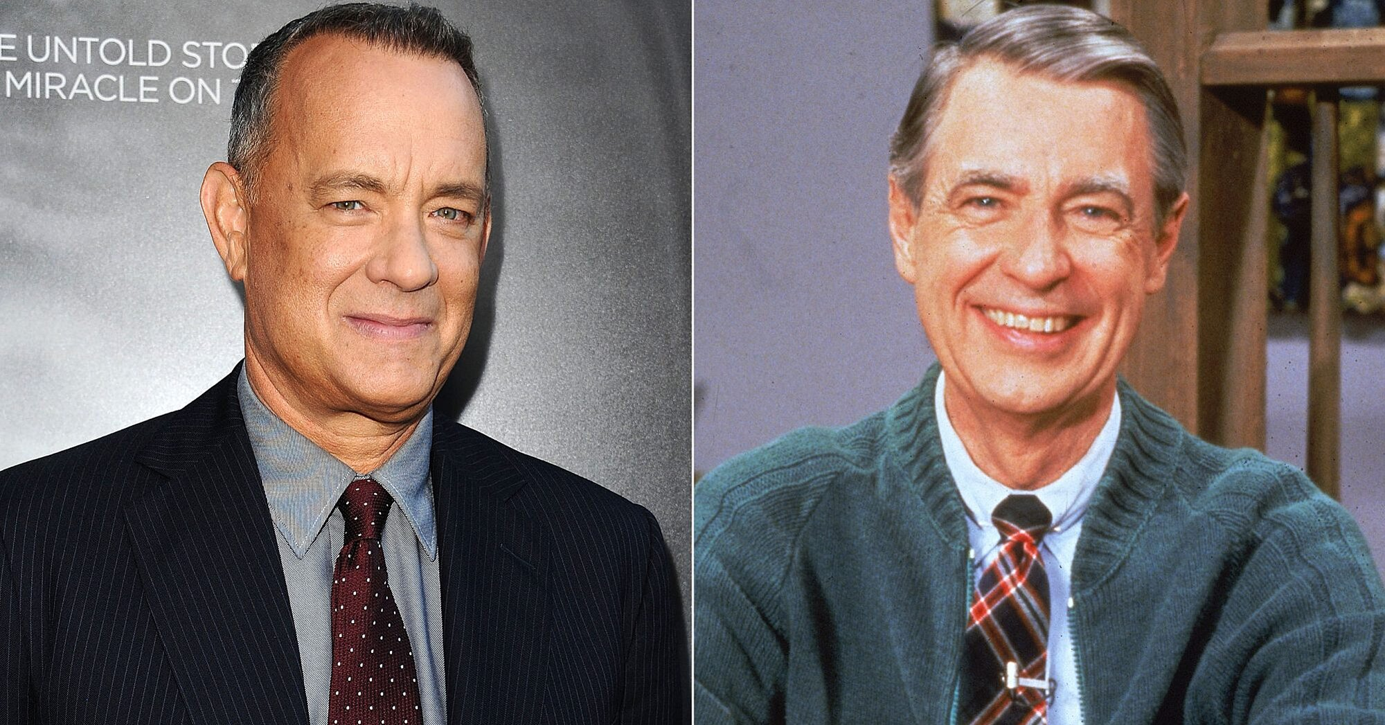 Beautiful Day In The Neighborhood Tom Hanks Related To Mister Rogers Ew Com