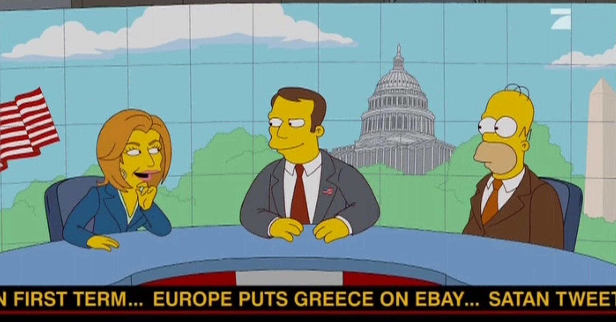 16 Simpsons Predictions That Came True Ew Com