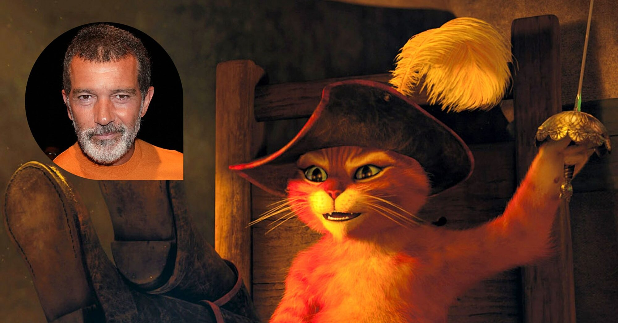 Antonio Banderas On How Shrek S Puss In Boots Almost Sounded Different Ew Com