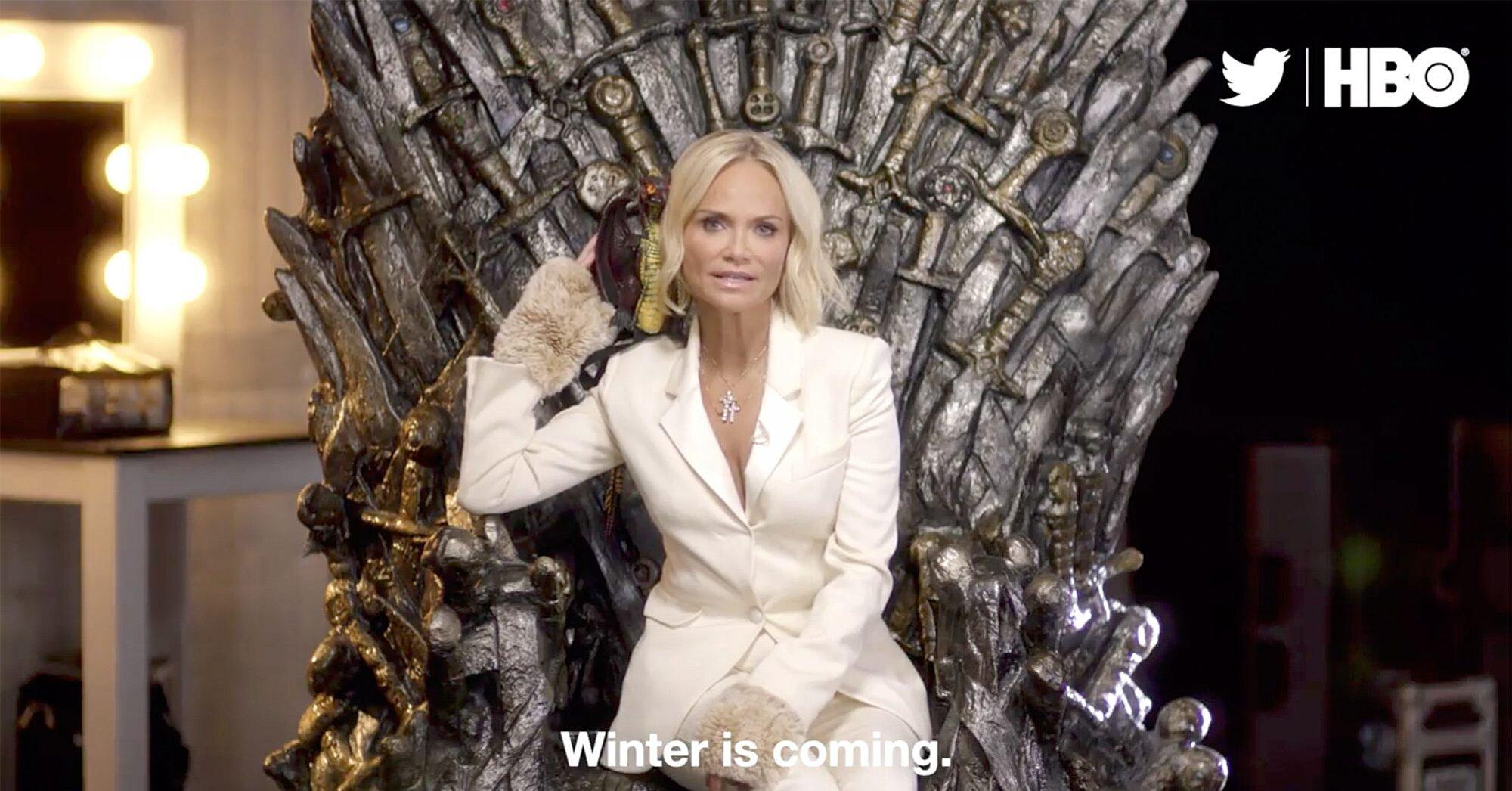 Game Of Thrones Final Season Jimmy Kimmel Kristin Chenoweth Star In Promo Ew Com