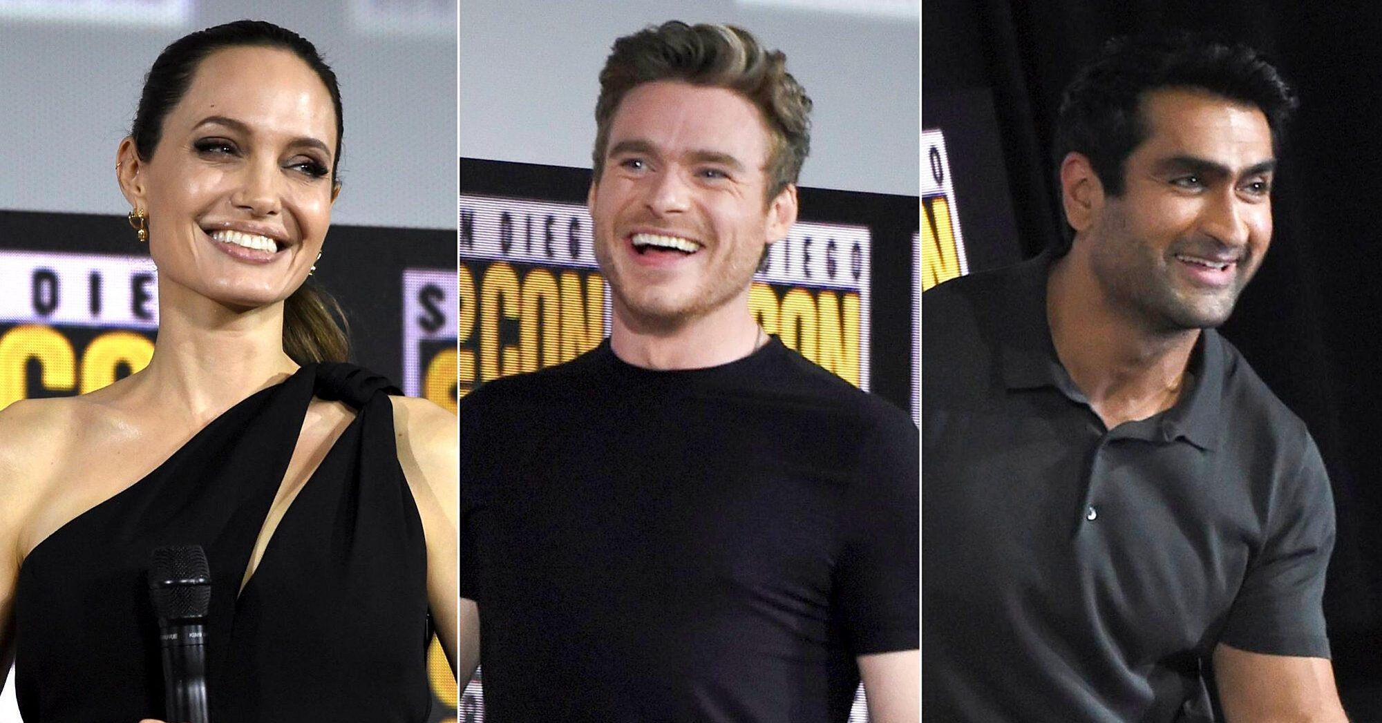 Marvel introduces The Eternals with Angelina Jolie, Richard Madden | EW.com