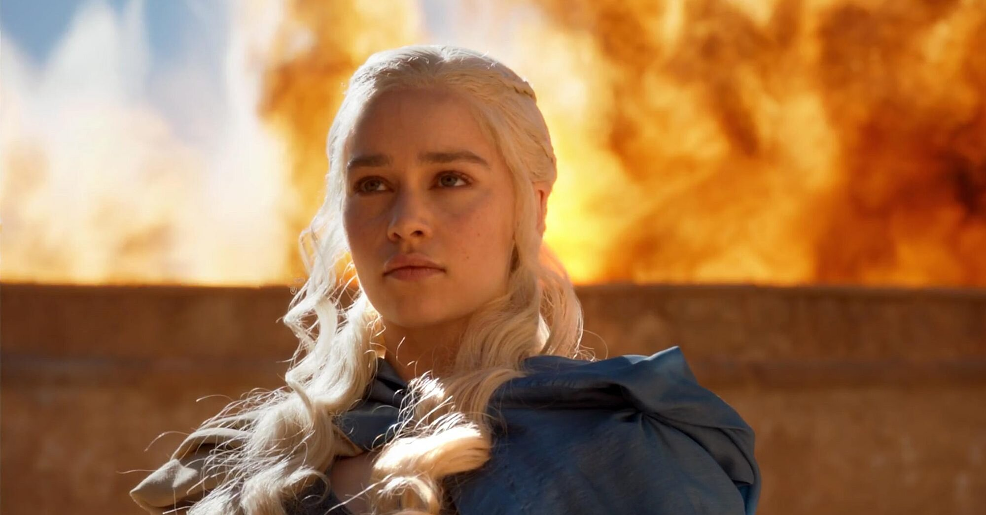 Emilia Clarke improvised an entire monologue on 'Game of Thrones' (and nobody ever noticed)