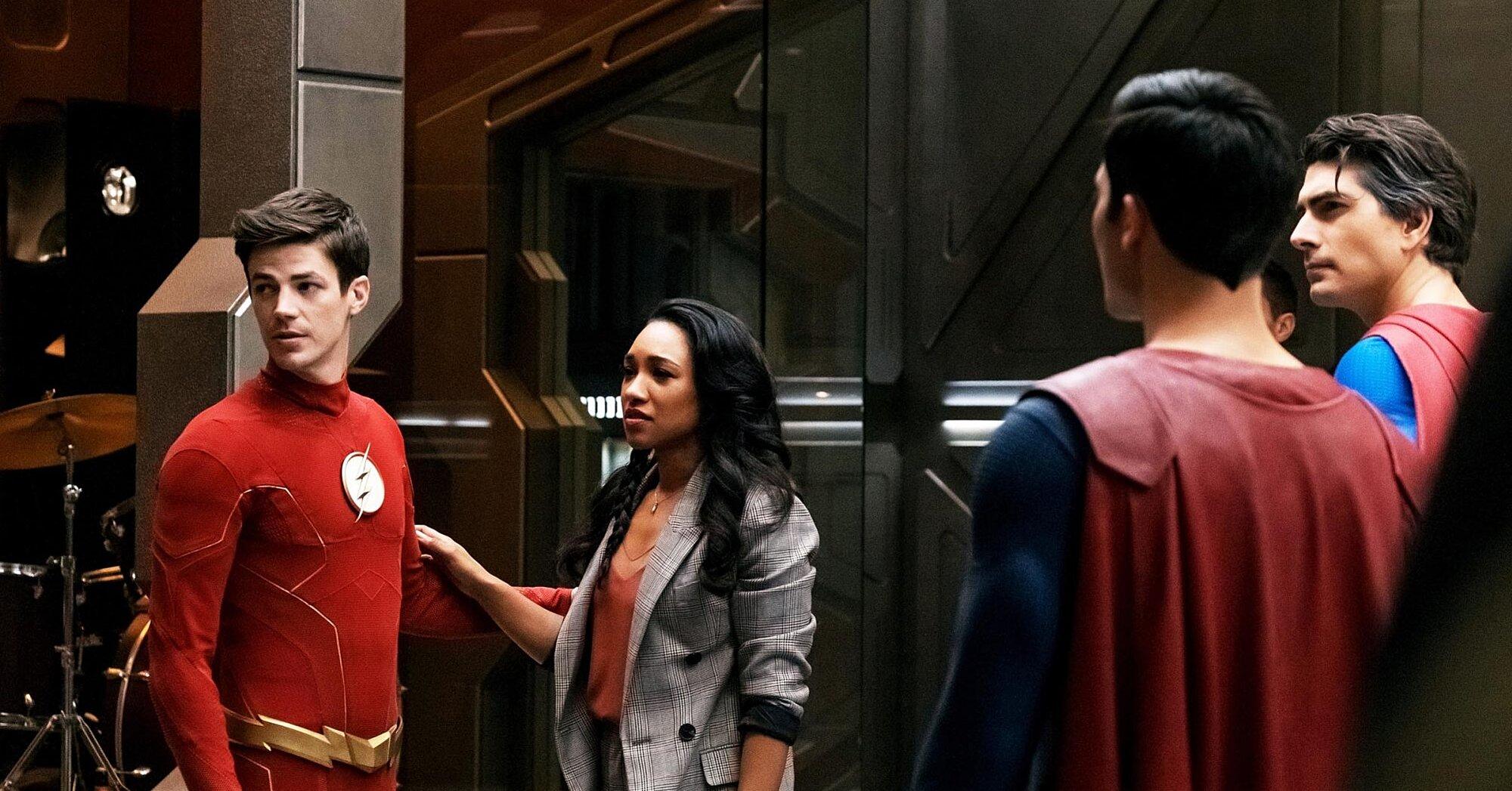 The Flash Recap Season 6 Episode 9 Crisis On Infinite Earths Part 3 Ew Com