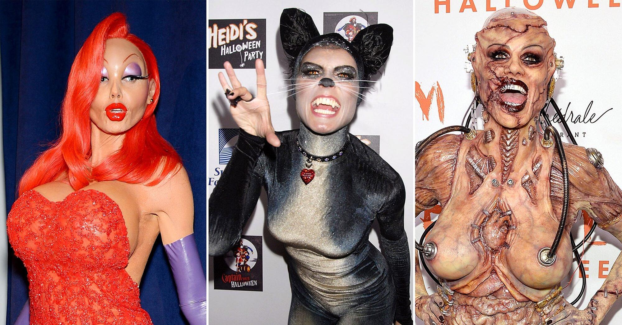 Heidi Klum Halloween Bash 2020.Heidi Klum S Most Epic Halloween Costumes Ew Com