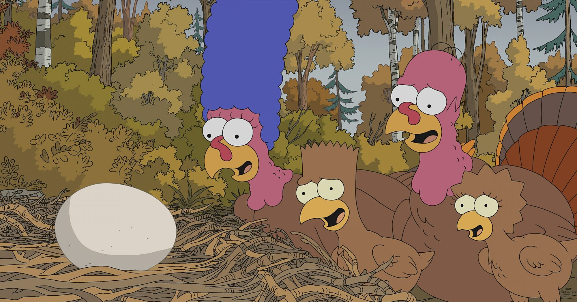 Simpsons Producer Drops Hints About Thanksgiving Of Horror Episode Ew Com