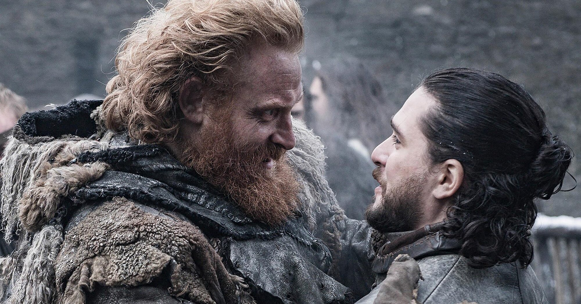 'Game of Thrones' star Kristofer Hivju knows what Jon Snow and Tormund are up to right now