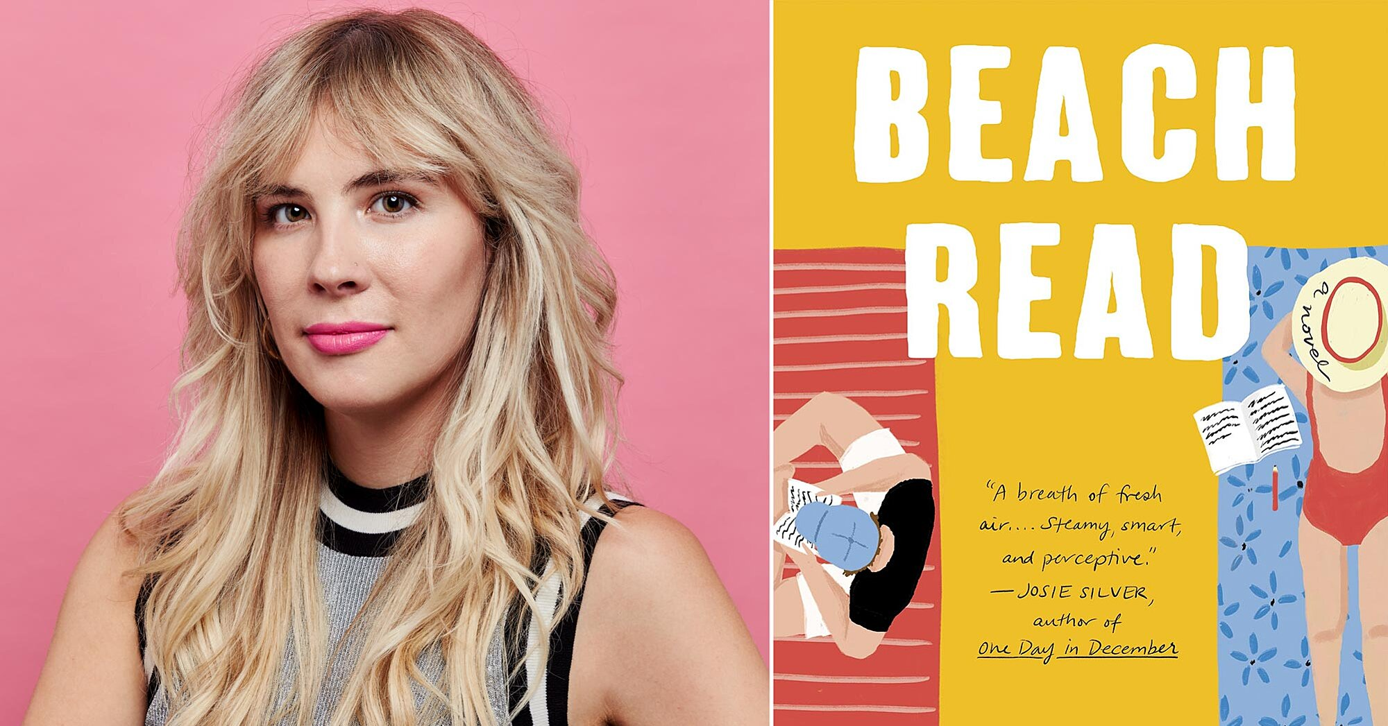 Emily Henry's 'Beach Read' was built on yogurt and good lighting