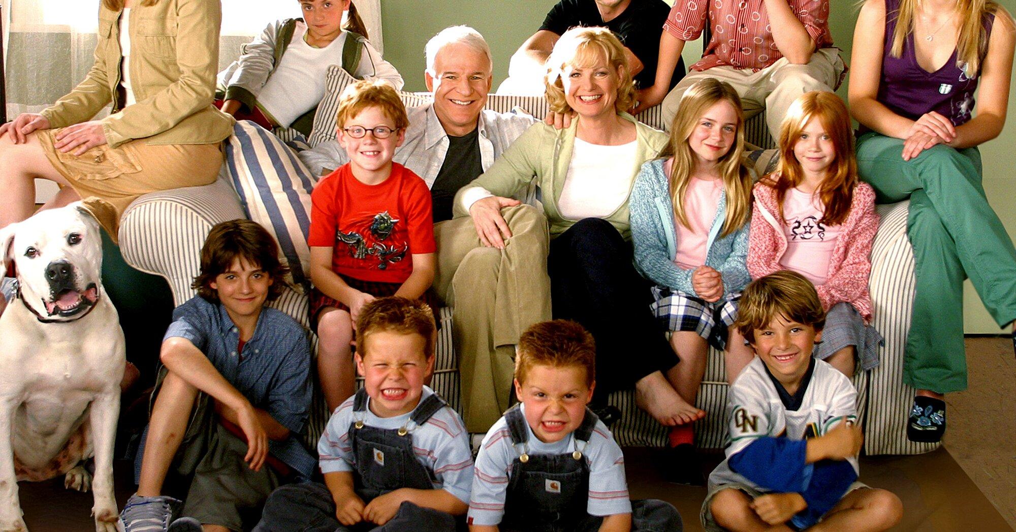 Cheaper By The Dozen Kids Recreate Scenes 17 Years Later Ew Com