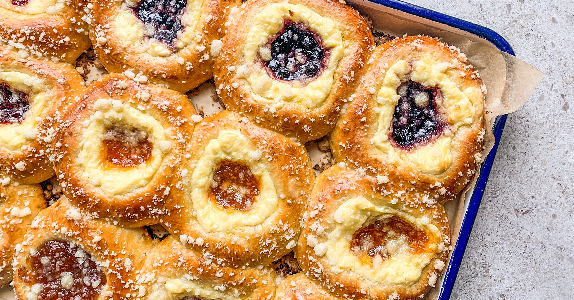 How to Make Gorgeous Kolaches (and Freeze Them for Later)