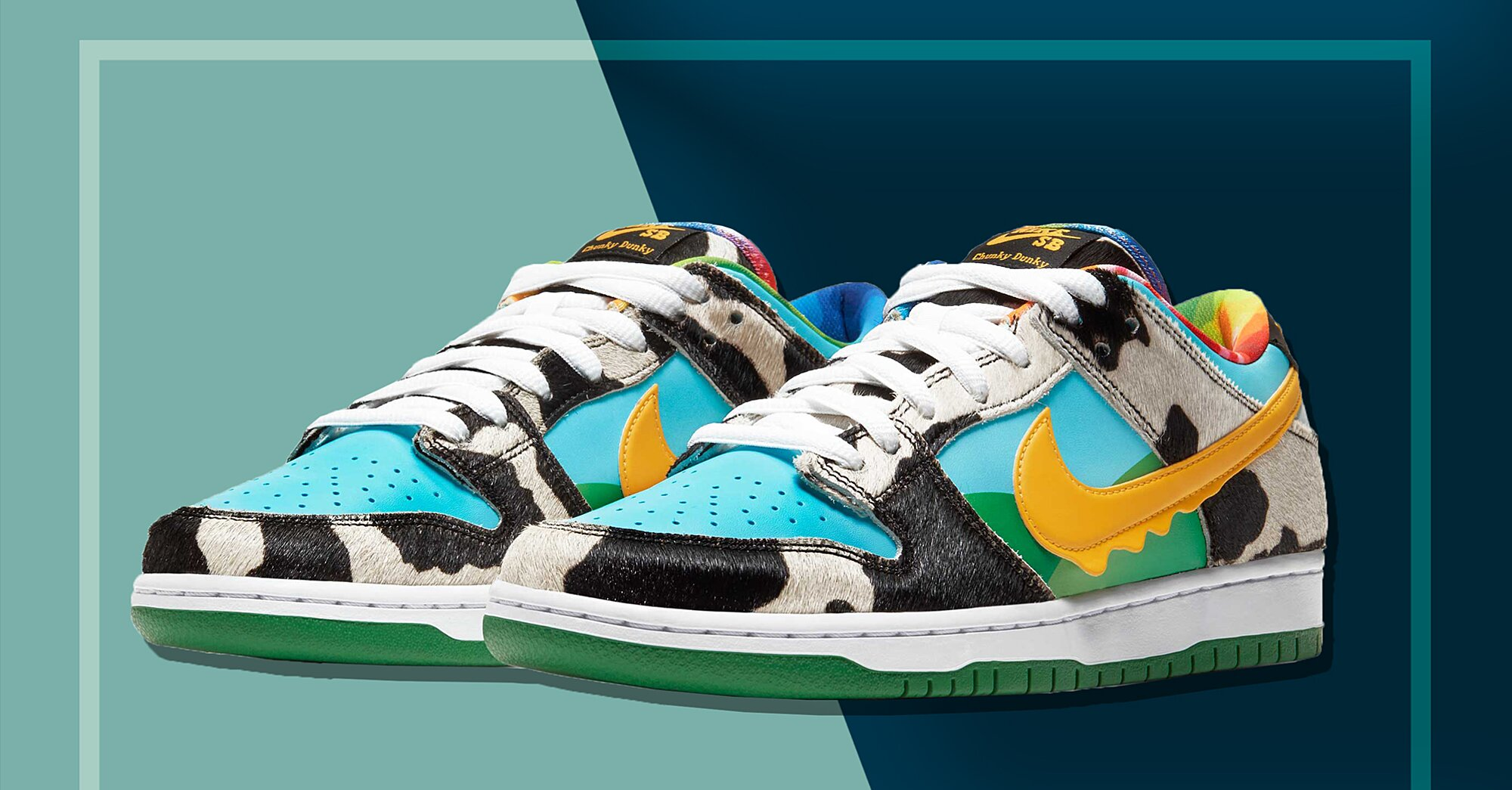 The Hottest Sneakers on the Internet Right Now Were Designed By Ben & Jerry's