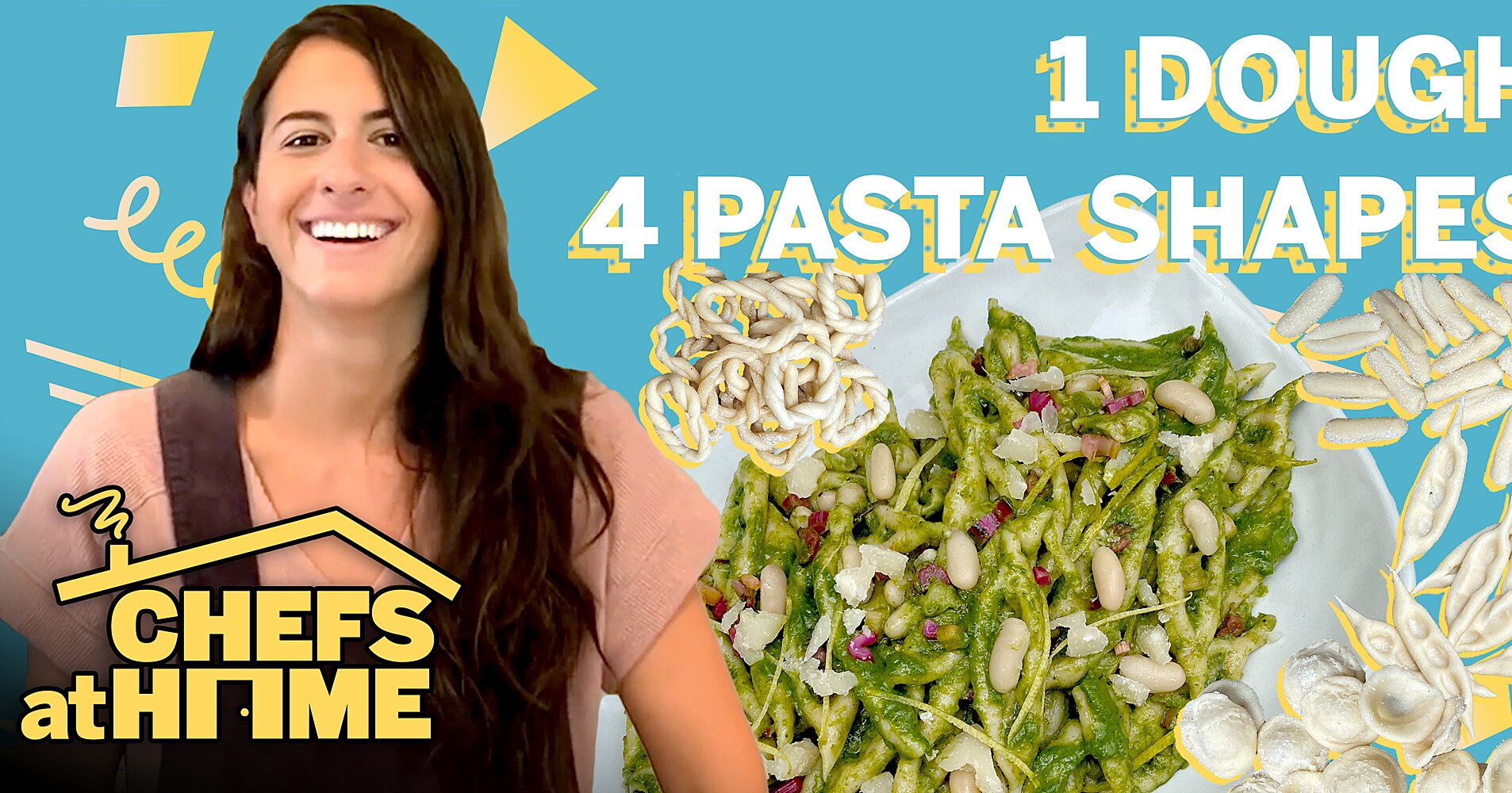 Watch: How to Make 4 Pasta Shapes from the Same Dough