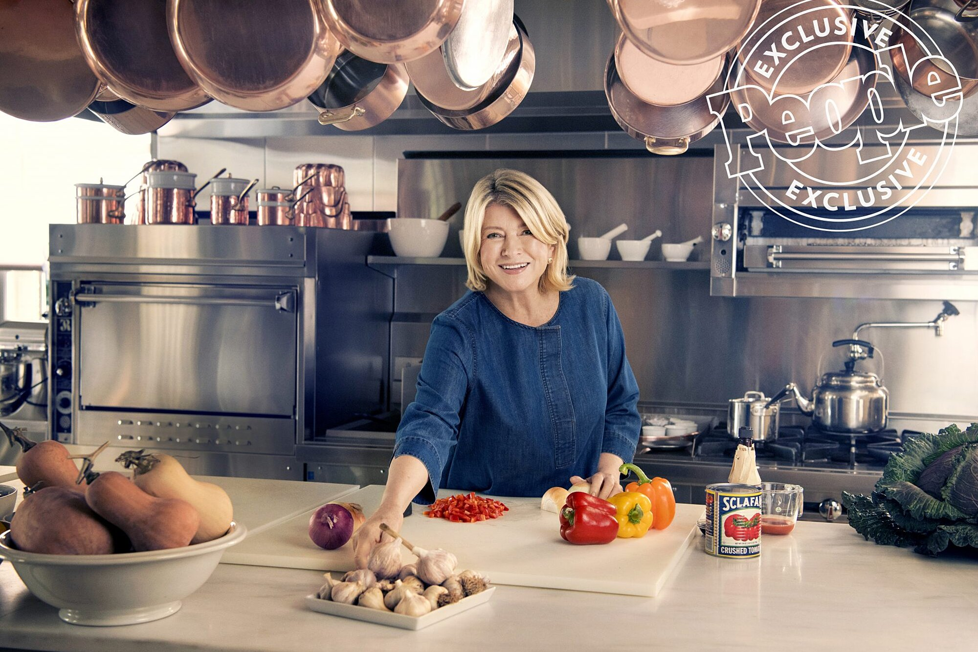 Martha Stewart Gives A Tour Of Her Farmhouse Kitchen And Apple Orchard People Com