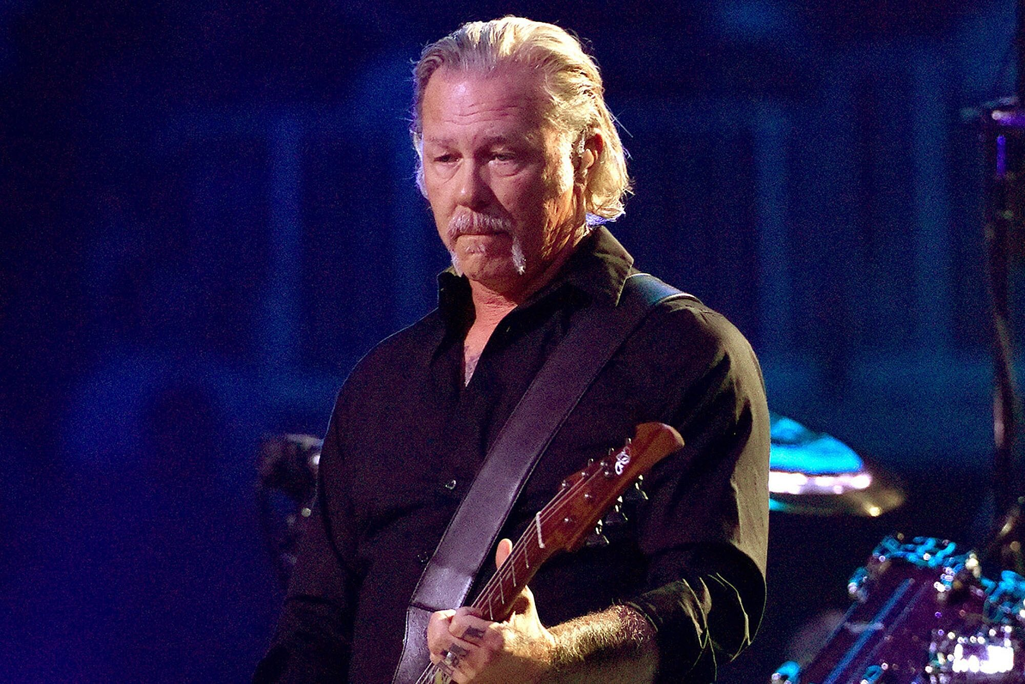 Metallica's James Hetfield Relapses, Enters Rehab, Band Postpones ...