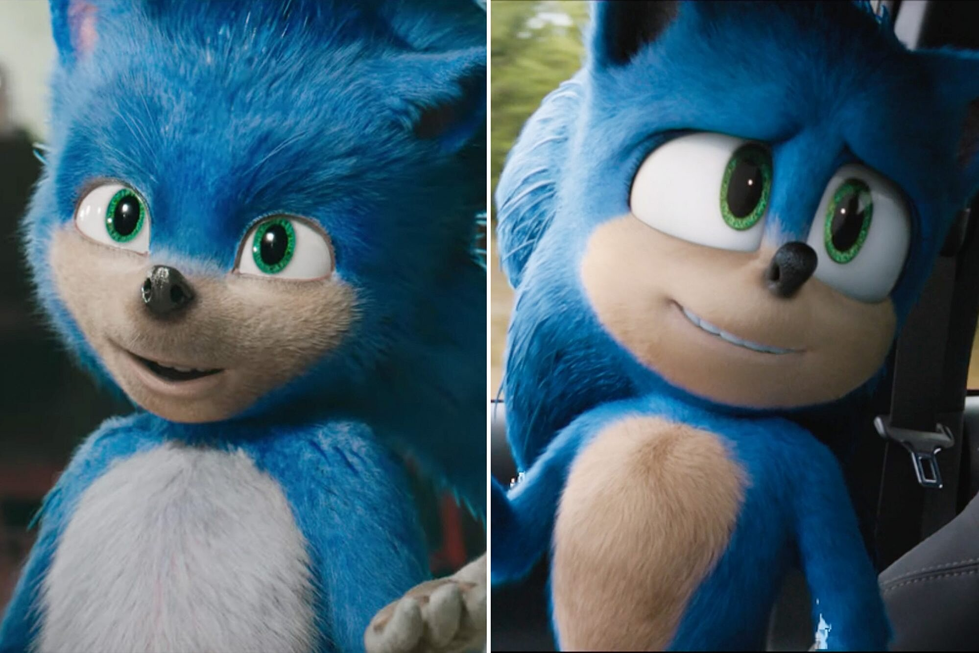 Sonic The Hedgehog Trailer Re Released With Redesigned Character People Com