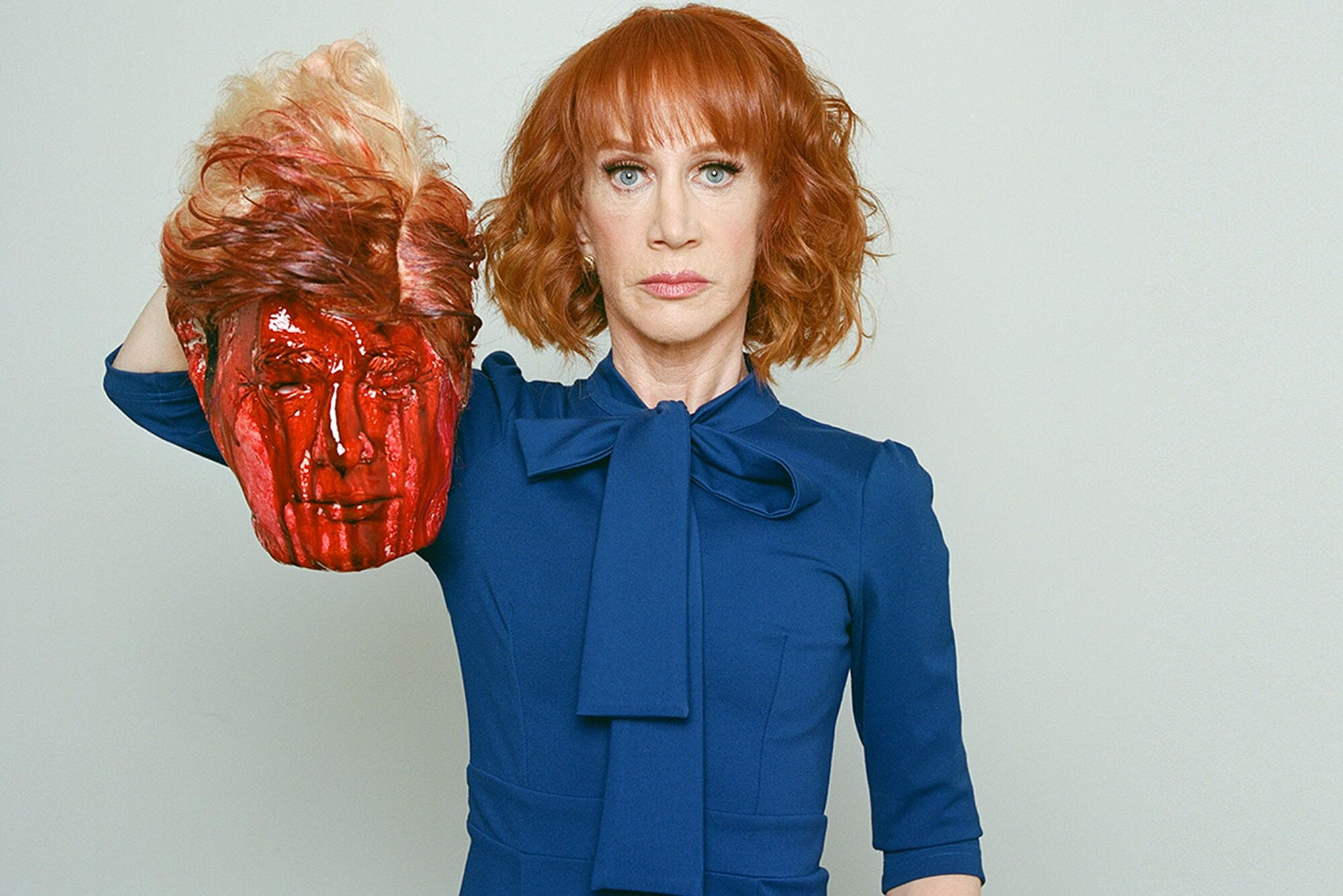 Kathy Griffin Trump photo: Tyler Shields explains decapitated image | EW.com