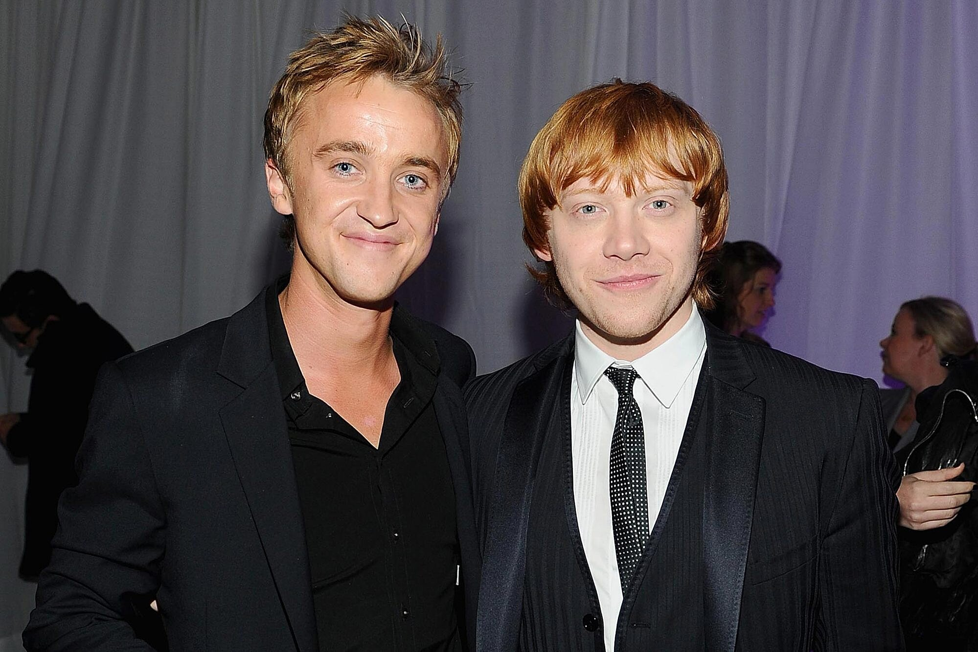 Harry Potter stars Rupert Grint, Tom Felton on returning to franchise