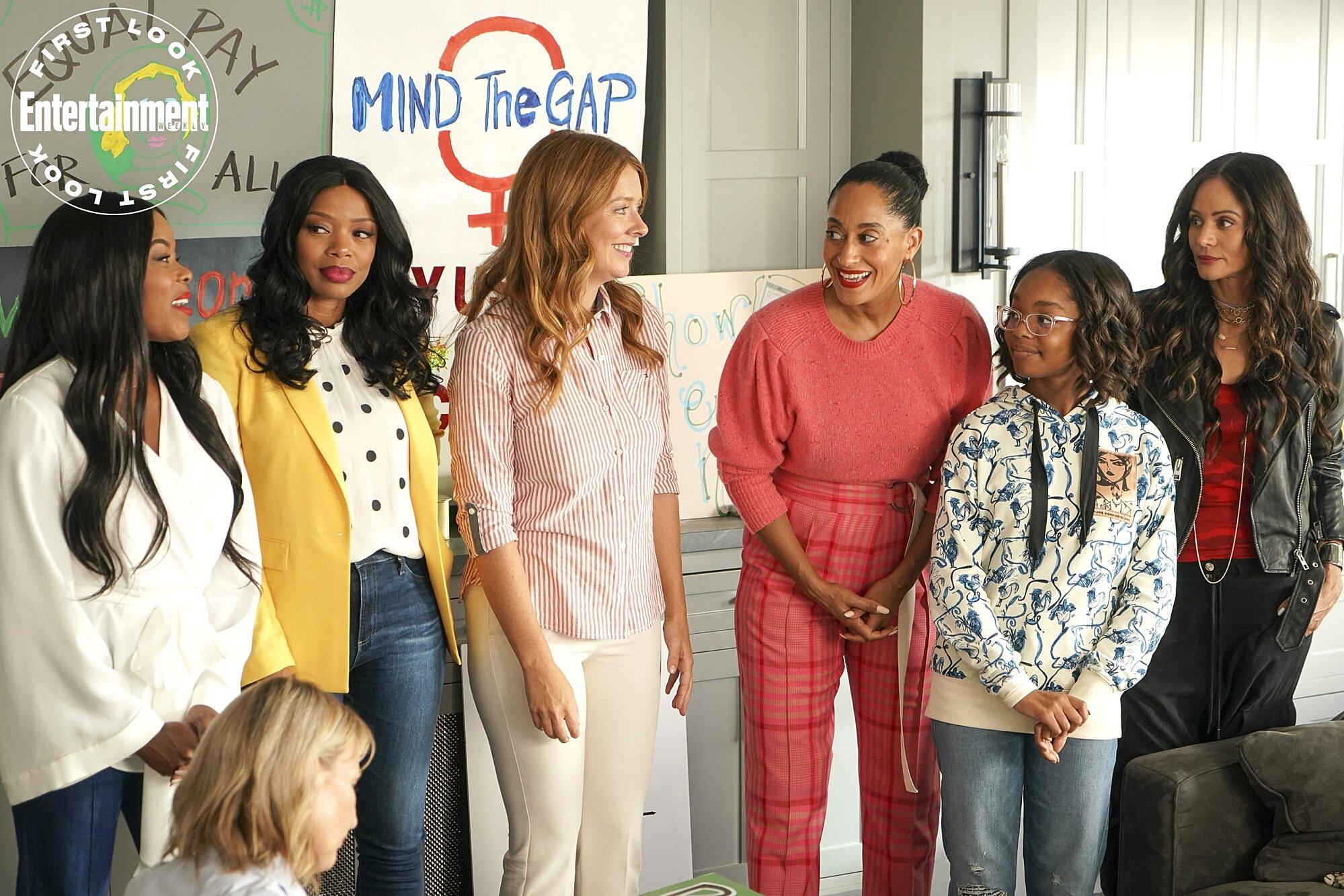 Exclusive: Girlfriends cast reunion on black-ish season 6   EW.com