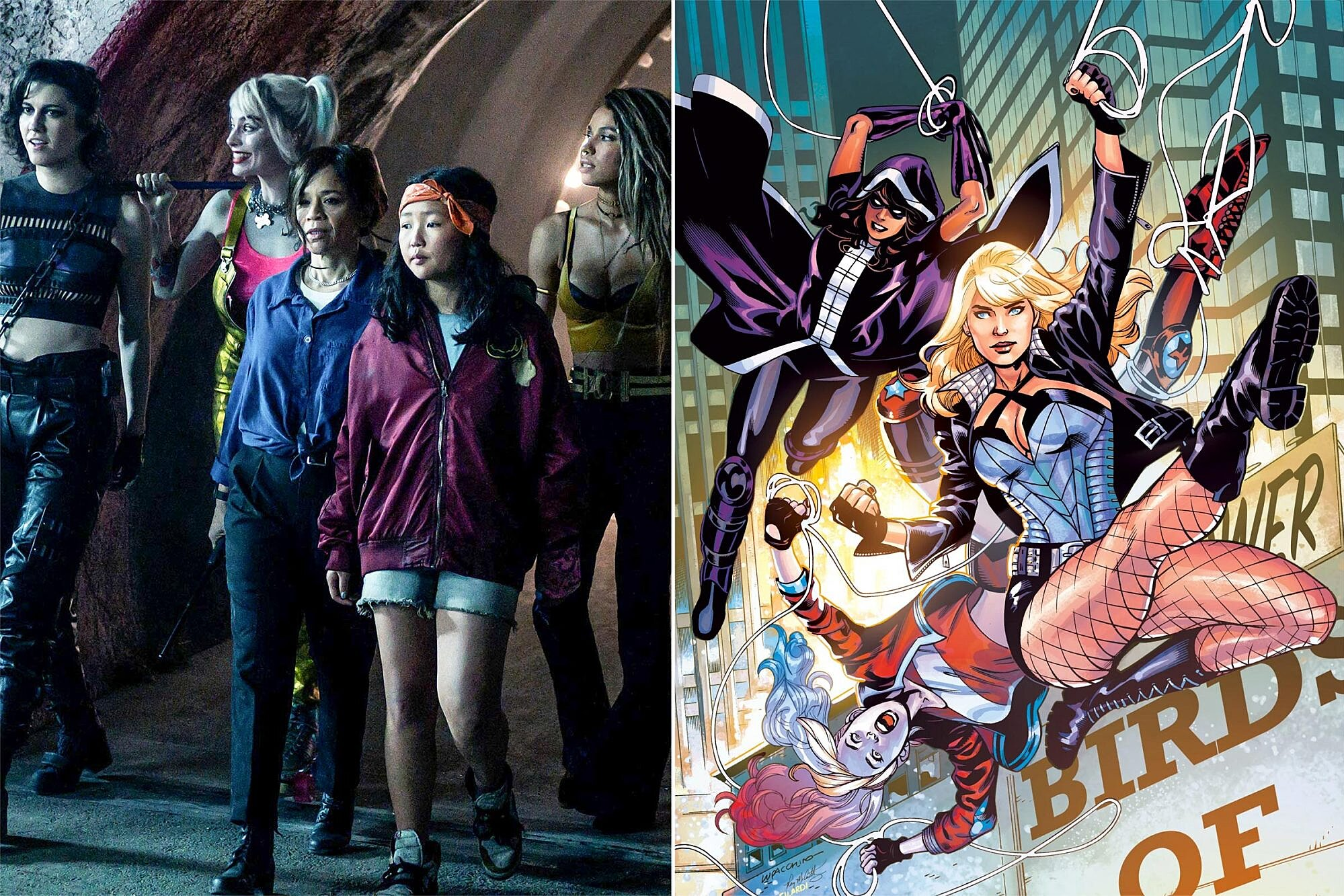 Birds Of Prey Primer Everything To Know About Their Comic Book History And Other Adaptations Ew Com