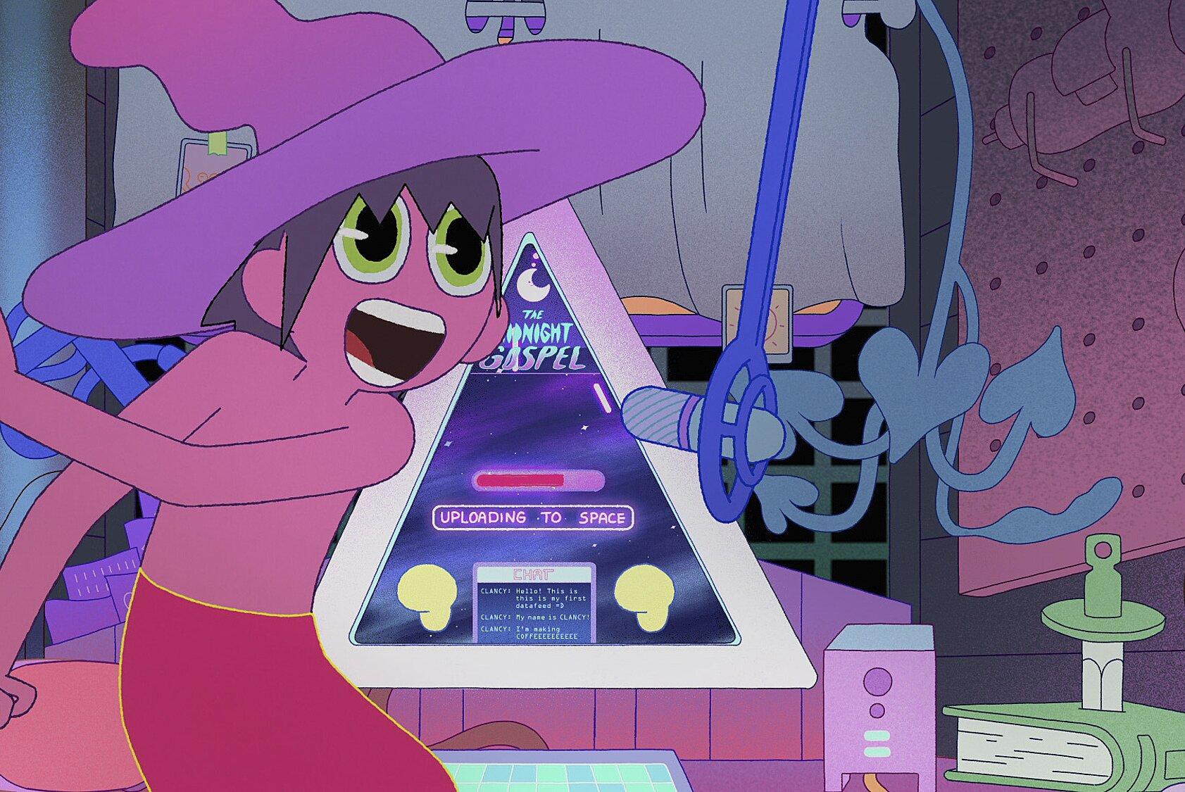 The Midnight Gospel Adventure Time Creator S Netflix Show Gets Teaser Trailer Ew Com