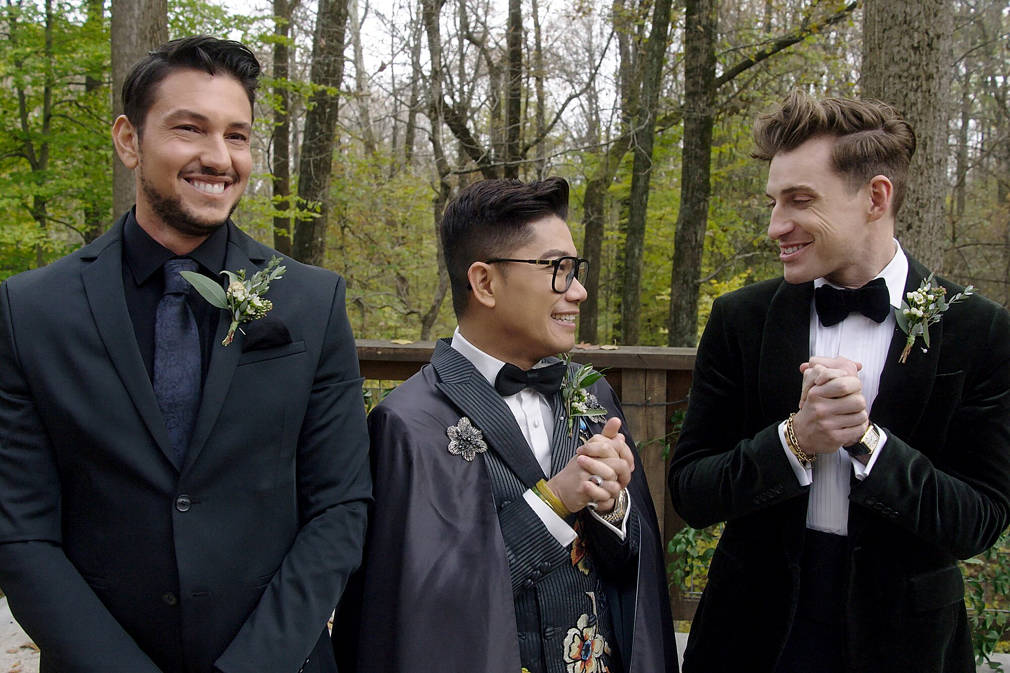 Netflix S Say I Do Wedding Dream Makers Explain Show Is About Fantasy Ew Com