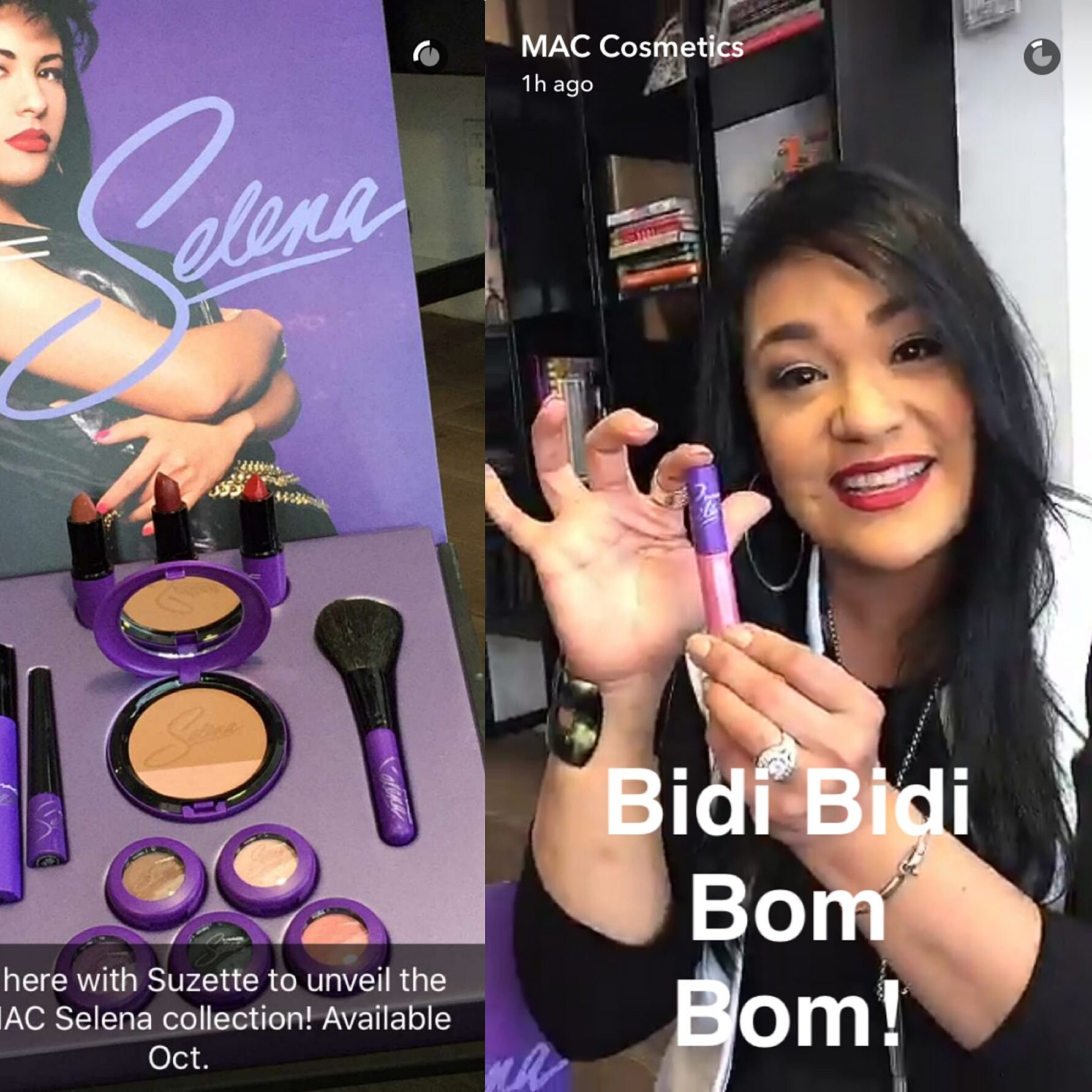Brace Yourself Mac Cosmetics Released More Sneak Peeks Of Their Upcoming Selena Collection Hellogiggles