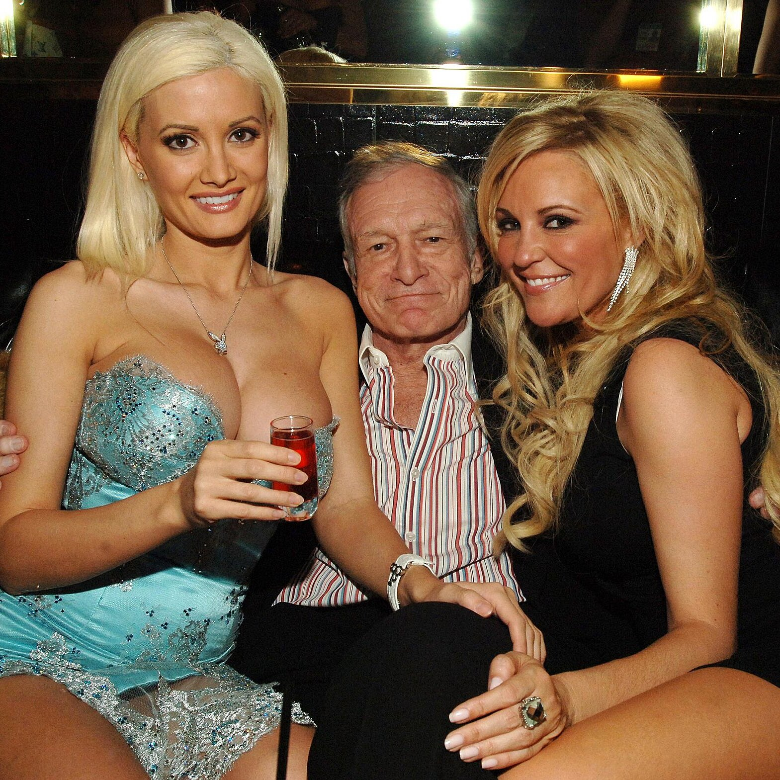 Bridget Marquardt And Holly Madison Holding Seance To Contact Hugh Hefner People Com