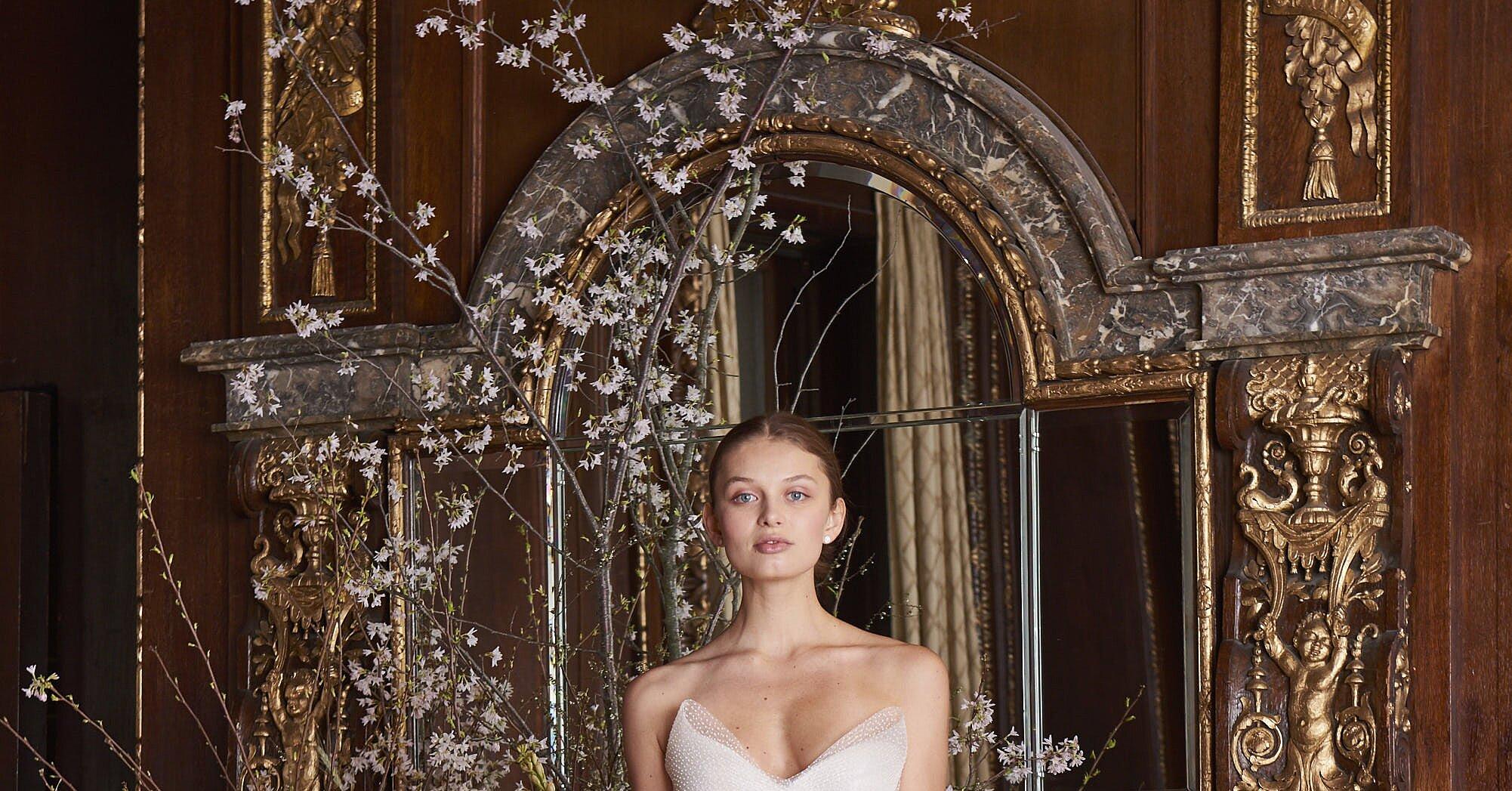Monique Lhuillier Spring 2019 Wedding Dress Collection Martha