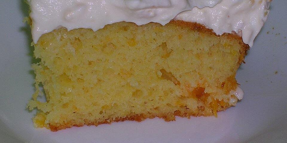 quick sunshine cake recipe