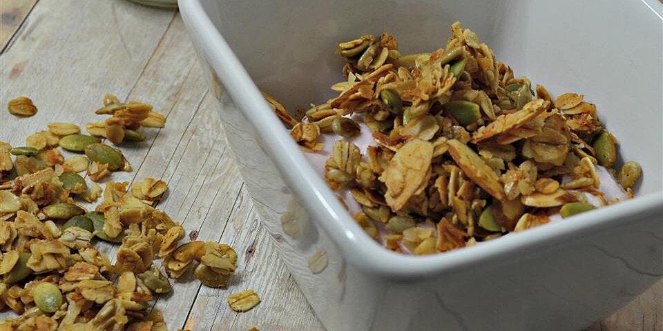 honey almond seeded granola recipe