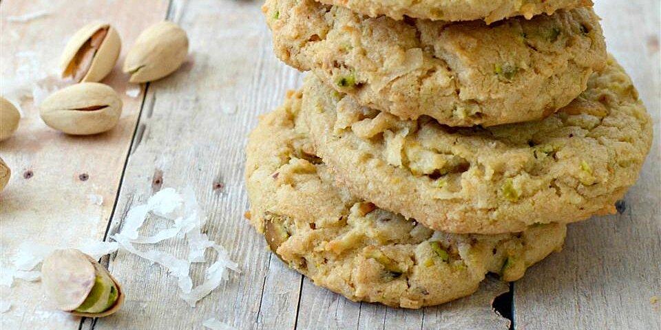 coconut pistachio cookies recipe