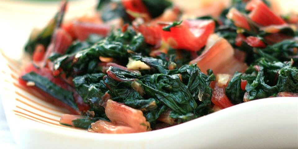 italian style swiss chard recipe