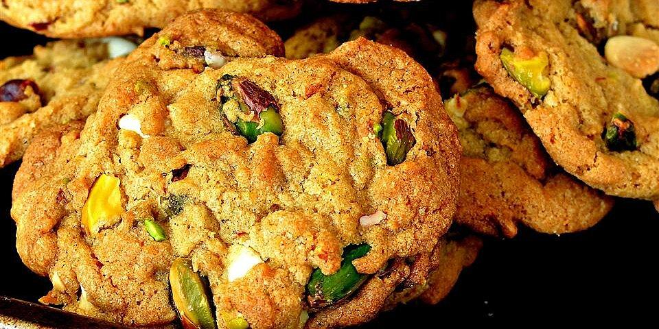 amazing white chocolate chip pistachio cookies recipe