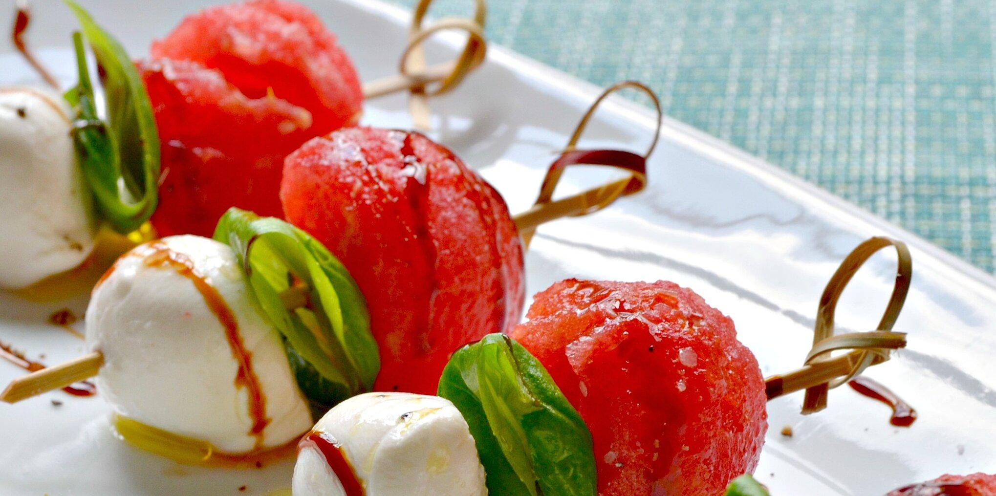 watermelon caprese appetizer recipe