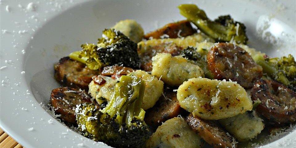 chicken sausage gnocchi skillet recipe