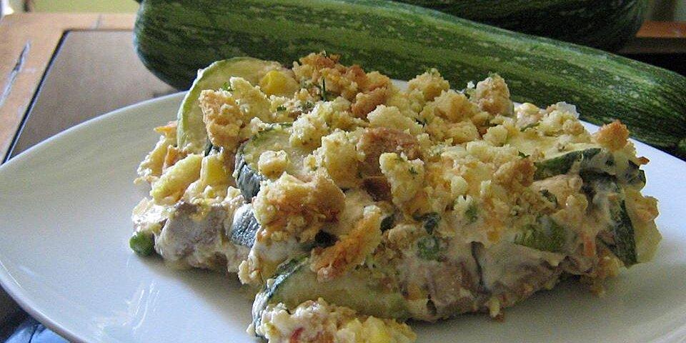 summer zucchini casserole recipe