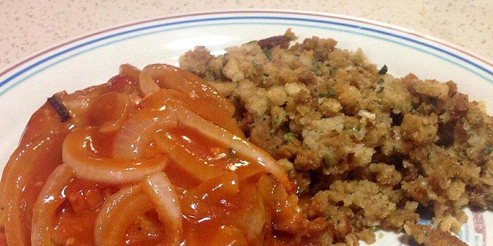 pork chops in red sauce recipe
